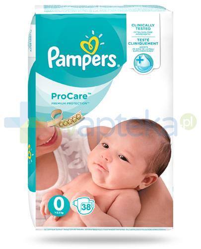 Pampers ProCare 0 pieluchy dla niemowląt 1-2,5kg 38 sztuk