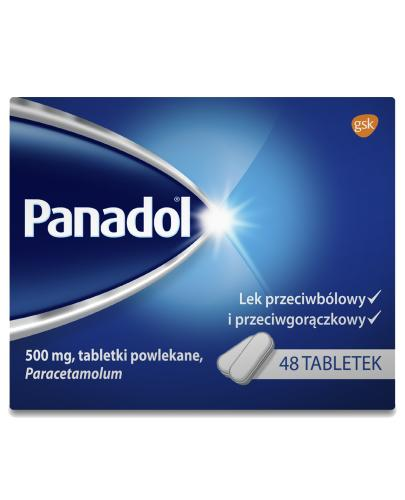 Panadol lek przeciwbólowy - 48 tabletek