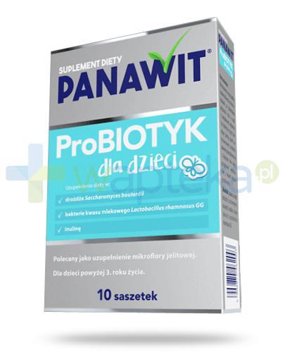 Panawit ProBiotyk dla dzieci 3+ 10 saszetek