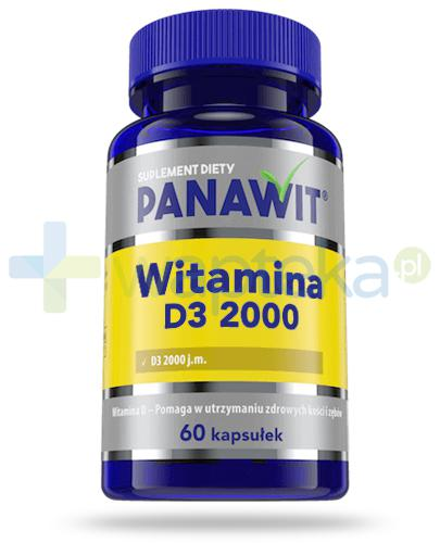 Panawit witamina D3 2000 60 kapsułek
