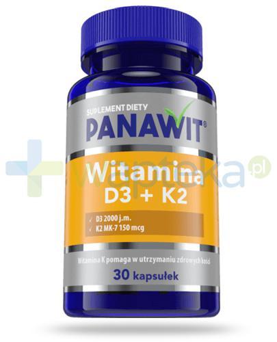 Panawit witamina D3 + K2 30 kapsułek