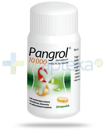 Pangrol 10000 50 kapsułek