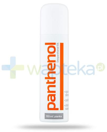Panthenol pianka 5% 150 ml Aflofarm