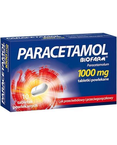 Paracetamol Biofarm 1000 mg tabletki powlekane 10 sztuk