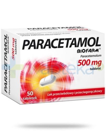 Paracetamol BIOFARM 500mg 50 tabletek