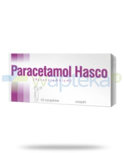 Paracetamol czopki 0,25g 10 sztuk HASCO