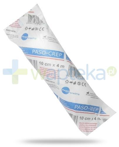 Paso-Crep opaska elastyczna podtrzymująca 10cm x 4m 1sztuka