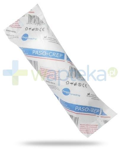 Paso-Crep opaska elastyczna podtrzymująca 8cm x 4m 1 sztuka