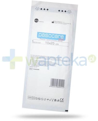 Pasocare Med plaster opatrunkowy jałowy 10x 25 cm 1 sztuka