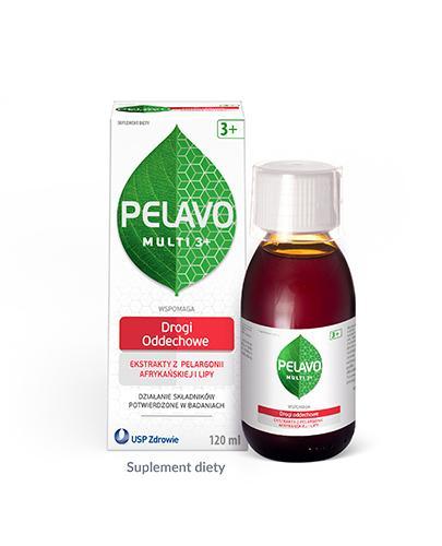 Pelavo Multi Drogi oddechowe syrop dla dzieci 3+ o smaku malinowym 120 ml
