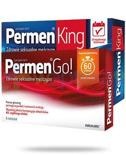 Permen King 30 tabletek + Permen Go 6 tabletek