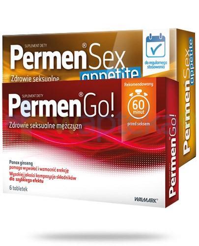 Permen Sex Appetite 30 tabletek + Permen Go 6 tabletek