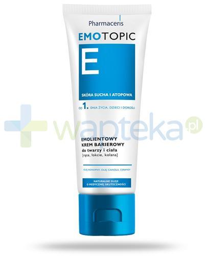 Pharmaceris E Emotopic emolientowy krem barierowy 75 ml