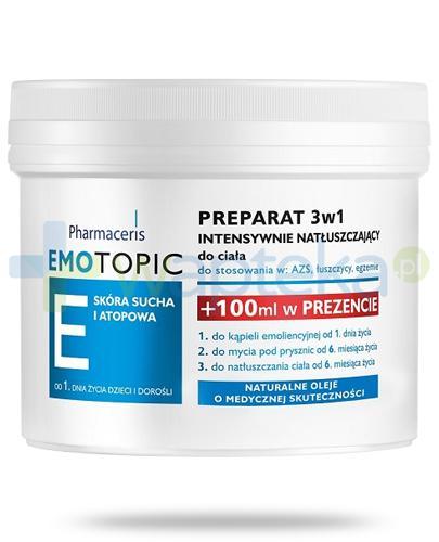 Pharmaceris E Emotopic preparat 3w1 intensywnie natłuszczający 500 ml