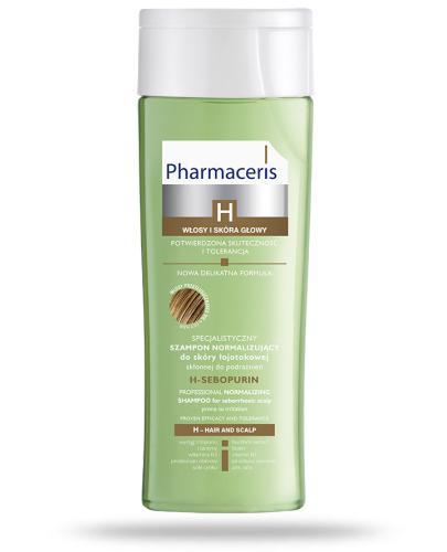 Pharmaceris H Sebopurin szampon normalizujący do skóry łojotokowej 250 ml