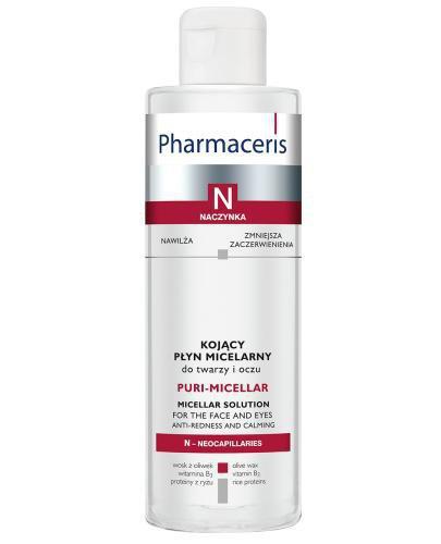 Pharmaceris N Puri-Miccelar płyn micelarny do oczyszczania i demakijażu twarzy i oczu 200 ml