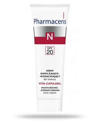 Pharmaceris N Vita-Capilaril krem SPF20 nawilżająco wzmacniający do twarzy 50 ml