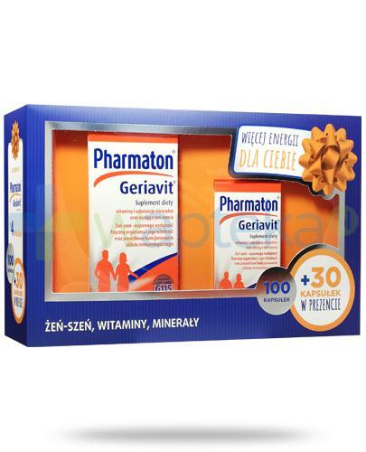 Pharmaton Geriavit 100 kapsułek + 30 kapsułek [ZESTAW]