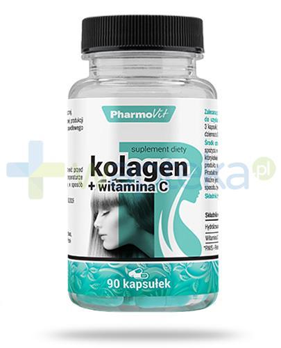PharmoVit Kolagen + witamina C 90 kapsułek