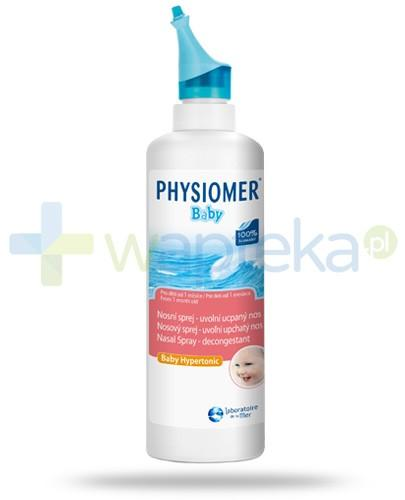Physiomer Baby woda morska do oczyszcania nosa w sprayu 115 ml