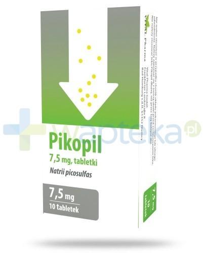 Pikopil 7,5 mg lek na zaparcia 10 tabletek