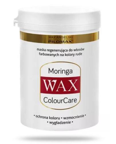 Pilomax WAX ColourCare Moringa maska regenerująca do włosów farbowanych na kolory rude 240 ml