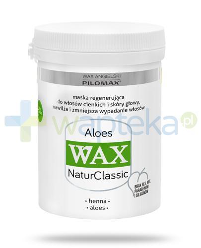 Pilomax WAX NaturClass Aloes maska do włosów cienkich bez objętości 240 ml