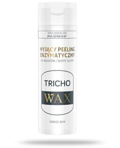Pilomax WAX Tricho myjący peeling enzymatyczny do włosów i skóry głowy 200 ml
