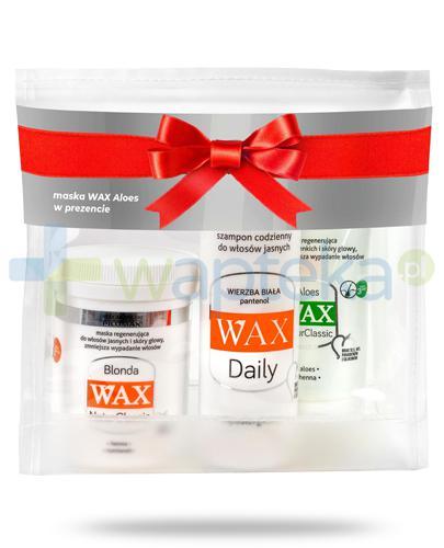 Pilomax WAX, zestaw do włosów jasych [ZESTAW]
