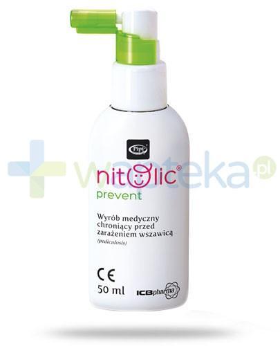 Pipi Nitolic Prevent spray ochronny przed wszawicą 50 ml