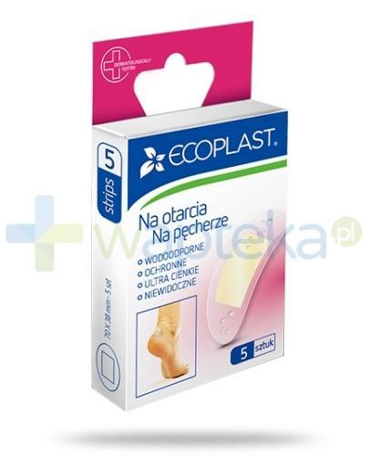 EcoPlast plaster na otarcia i pęcherze 70 x 38 mm 5 sztuk