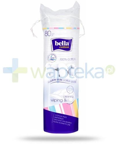 Bella Cotton płatki kosmetyczne 80 sztuk
