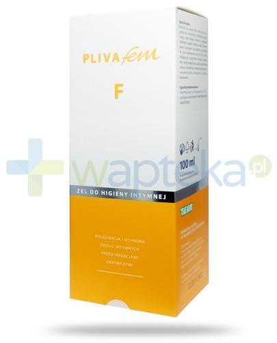 PlivaFem F żel do higieny intymnej 100 ml