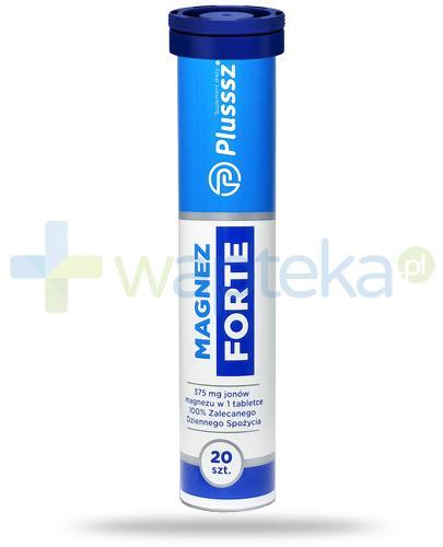 Plusssz Magnez Forte 20 tabletek