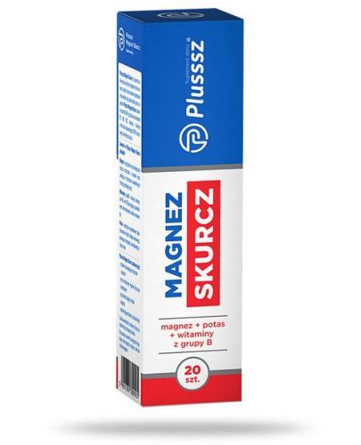 Plusssz Magnez Skurcz 20 tabletek musujących