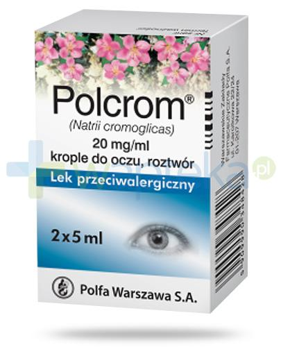 Polcrom 20mg/ml krople do oczu 2x 5 ml