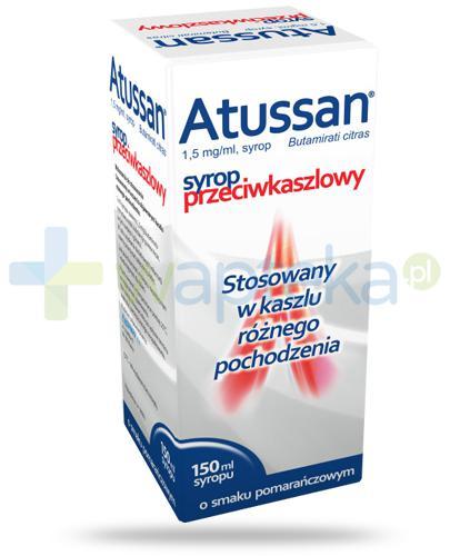 Polfarmex Atussan syrop przeciwkaszlowy 150 ml