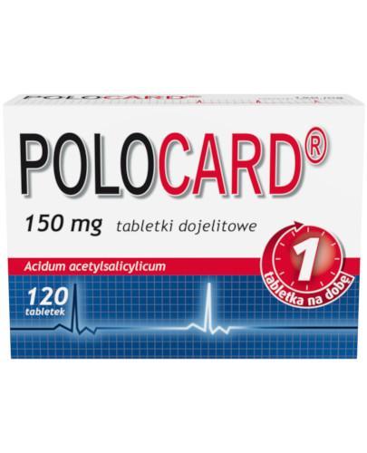 Polocard 150mg 120 tabletek