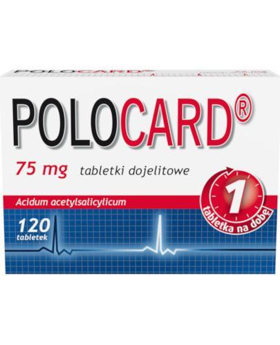Polocard 75mg 120 tabletek