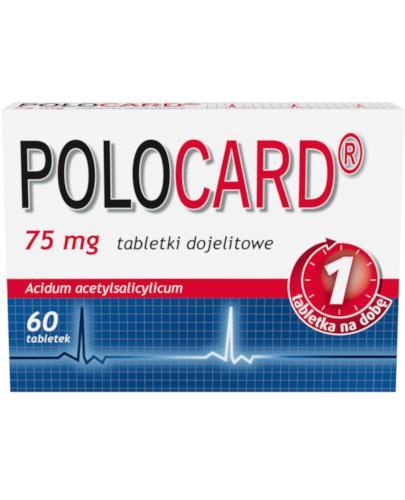 Polocard 75mg 60 tabletek