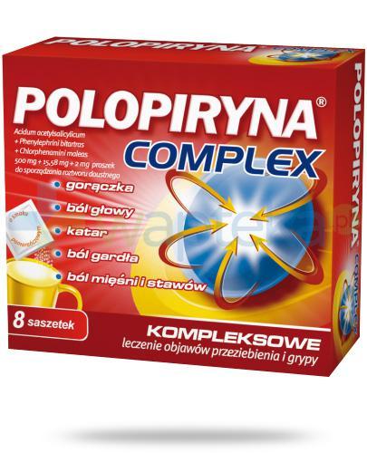 Polopiryna Complex 500mg 8 saszetek