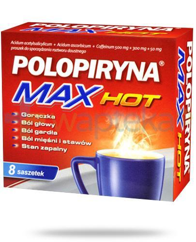 Polopiryna Max Hot 500mg 8 saszetek