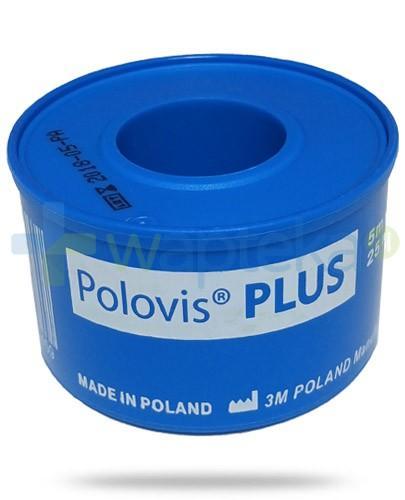 Polovis Plus przylepiec tkaninowy 5m x 25mm