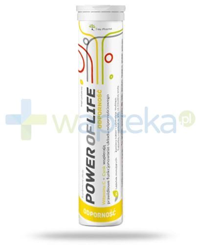 Power Of Life Odporność witamina C + cynk na odporność 20 tabletek
