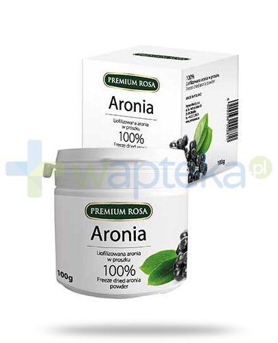 Premium Rosa liofilizowana aronia w proszku 100 g