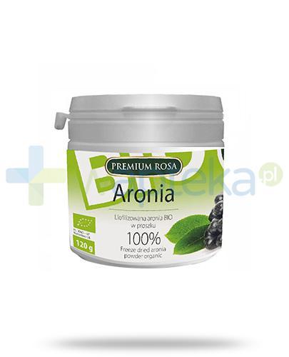 Premium Rosa liofilizowana aronia w proszku 120 g
