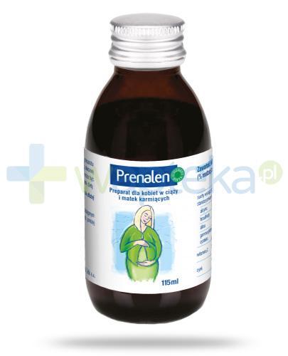 Prenalen preparat dla kobiet w ciąży i matek karmiących piersią 115 ml