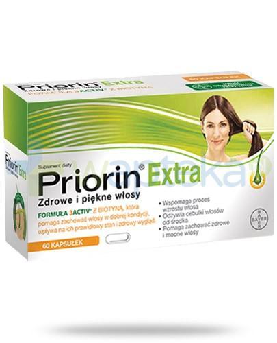 Priorin Extra Zdrowe i piękne włosy 60 kapsułek