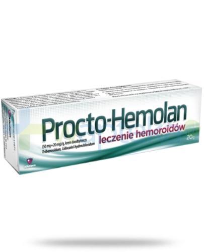 Procto-Hemolan krem doodbytniczy 20 g