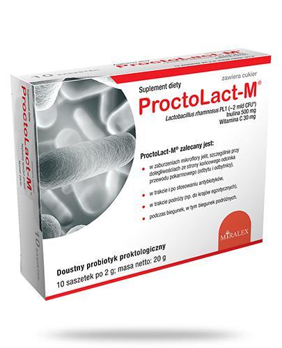 ProctoLact M 10 saszetek
